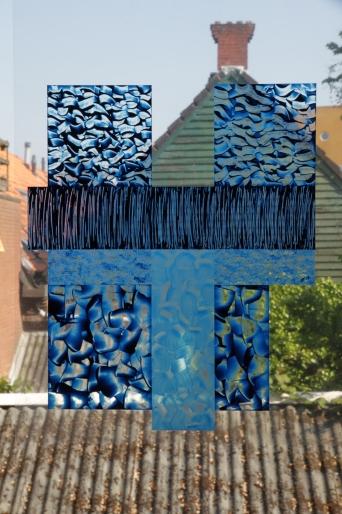 Blue Grid #2