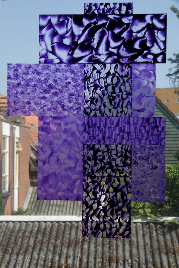 Purple Grid #2